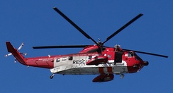 Irish Coast Guard Sikorsky S-61N SAR helicopter