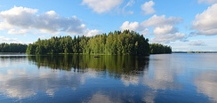 There are some 187,888 lakes in Finland larger than 500 square metres. Isojärvi is the 97th largest lake in Finland.