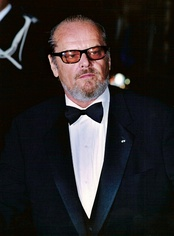 Photo of Jack Nicholson attending the Cannes Film Festival in 2002