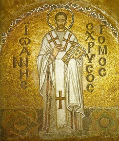 St. John ChrysostomArchbishop of Constantinople (398–404)