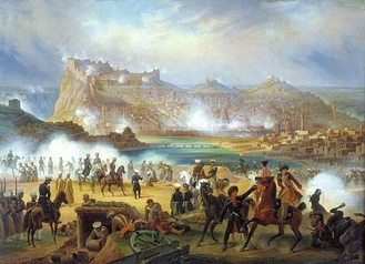 Siege of Kars (1828), by January Suchodolski.