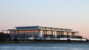The Kennedy Center for Performing Arts is home to the Washington National Opera and National Symphony Orchestra.