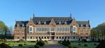 The Université d'Artois' campus in Lens sits in the ancient headquarters of Compagnie des mines.