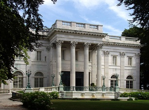 Marble House, owned and operated by the Preservation Society