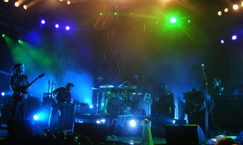 The band's four-hour late-night set in the rain at Bonnaroo 2008 has been regarded among their best performances.[7][8]