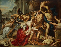 Rubens, Massacre of the Innocents, 1610–11, Toronto