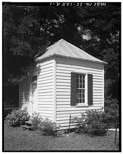 "The ""Session House"" of the Edisto Island Presbyterian Church was used by the Session and for small meetings."