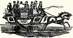 The Union coach as shown in an advertisement