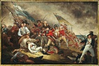 The Death of General Warren at the Battle of Bunker's Hill, June 17, 1775 (event 1775, painted 1786)