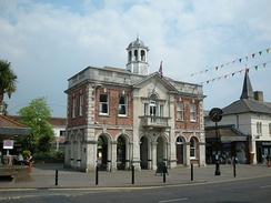 The Mayor's Parlour and Saxon Square