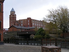 Trencherfield Mill is an example of one of Wigan's mills being converted for modern use.[27]