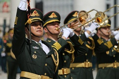 The Central Military Band of the People's Liberation Army is the senior military band in the People's Republic of China.