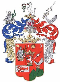 Coat of Arms of the Turiec county in Slovakia.