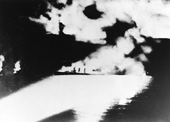 Battle of Savo Island was the first in a series of night-time engagements between surface warships during the Solomon Islands campaign.
