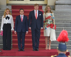 Official visit of Mexican President Enrique Peña Nieto to the Netherlands; 2018.