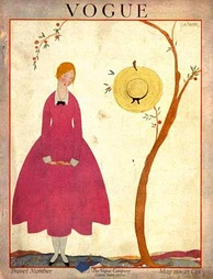 Cover of the May 1917 issue. (American Vogue)