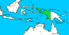 Western New Guinea was formally annexed by Indonesia in 1969