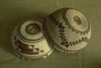 Yurok baskets from Redwood National Park area, California