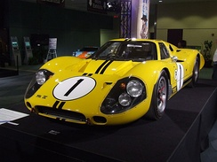 The Ford Mk IV which won the 1967 Sebring 12 Hour