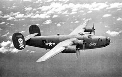 B-24D-170-CO Liberator 42-72956 on Mission to Wewak, New Guinea, 24 February 1944