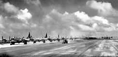 39th BG B-29s at North Field Guam – Summer 1945