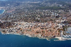 Aerial view of Antibes, 2012