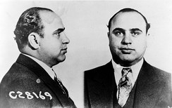 Al Capone's culturally-publicized violent rise to power in Chicago made him an ever-lasting criminal figure of the prohibition era.