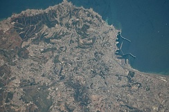 Astronautical view of Algiers