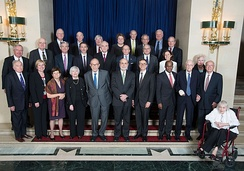 Current and living former Governors, 2013