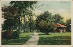 Bliss Park in Saginaw, circa 1900s