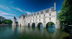 The Château de Chenonceau, nowadays part of a UNESCO World Heritage Site, was built in the early 16th century.