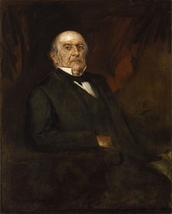 Gladstone in 1886, as painted by Franz von Lenbach.