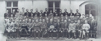 The Japanese delegation at the Paris Peace Conference