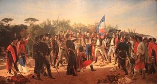 «Клятва 33-х уругвайцев», зачинщиков восстания 1825года за освобождение Уругвая от бразильского ига.