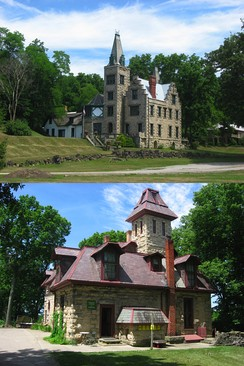 Abram S. Piatt House and Donn S. Piatt House, in Logan County