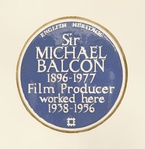 Day-Lewis' father Cecil and maternal grandfather Sir Michael Balcon were both awarded English Heritage blue plaques to mark their respective contributions to literature and cinema in the UK