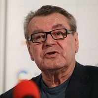 Film director Miloš Forman