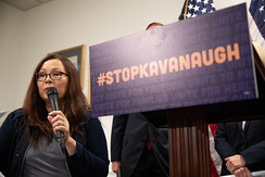Stop Kavanaugh press conference on September 6, 2018