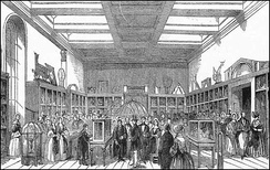 Opening of the King George III Museum by Albert, Prince Consort on 1 July 1843