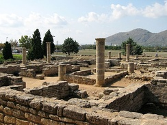 Ruins of the Roman city of Pollentia