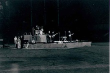 The Beatles at Metropolitan Stadium, August 1965; the ticket was $4.16 plus tax.