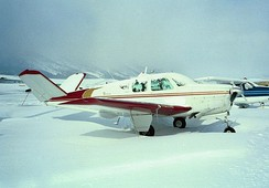 1957 Model H35 at Jackson Hole Airport.
