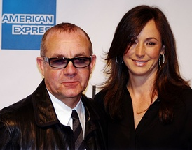 Bernie Taupin and wife Heather, attending the premiere of The Union at the Tribeca Film Festival, April 2011