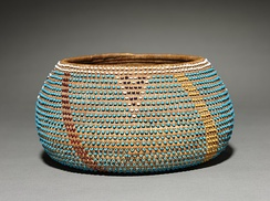 Late 19th-early 20th century Wappo basket in the Cleveland Museum of Art