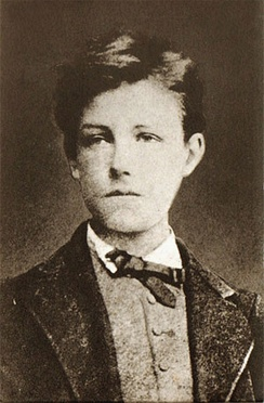 Arthur Rimbaud photographed by Étienne Carjat, October 1871.