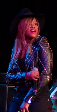 Eve performing at the Roxy in 2013