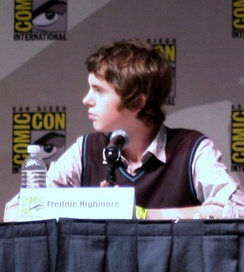 Highmore at the San Diego Comic-Con International, 23 July 2009