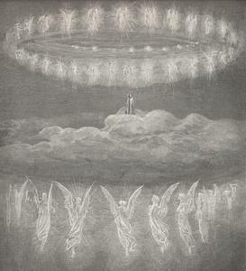 Illustration for Paradiso (of The Divine Comedy) by Gustave Doré
