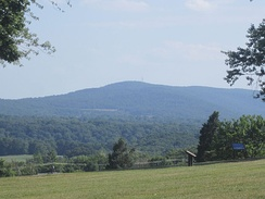 Scenic view north of Bolivar Heights Battlefield