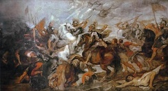 Henry IV at the Battle of Ivry, by Peter Paul Rubens